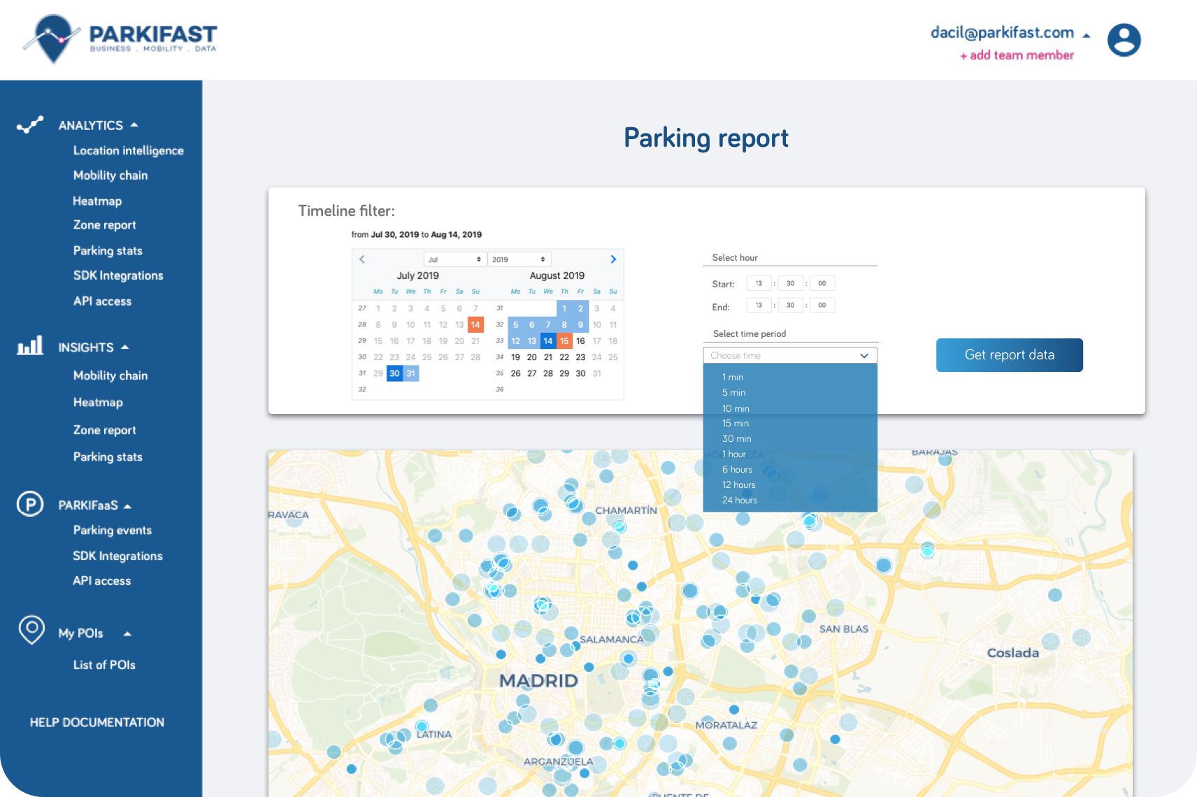WEB-SCREENSHOT-Parking report